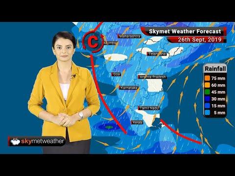 Weather Forecast Sept 26: Moderate to heavy rains over Kochi, Mangalore, Patna, Gaya, Varanasi