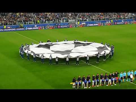 Juventus Juve Sporting Lisbona Allianz Stadium Champions League 19 ottobre 2017 Inno Champions