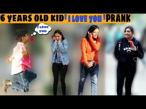 6 Years Old Kid Proposing Hot Girls | I love u prank | prank Gone worng | prank in india | jaipur tv