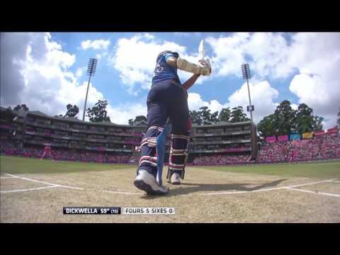 South Africa vs Sri Lanka - 3rd ODI  Niroshan Dickwella 50