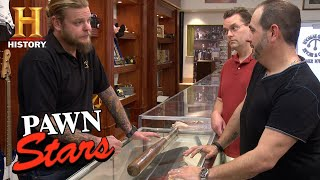 Pawn Stars: Ty Cobb, Joe Sewell Game Used Signed Bat | History