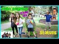 Hello Neighbor Real Life Statues In The Park / That YouTub3 Family