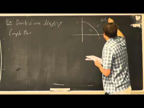Multivariable Calculus: Lecture 25 - Vector Fields and Line Integrals