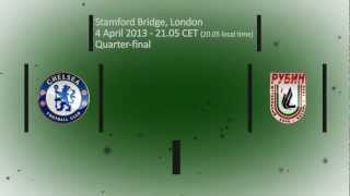 Chelsea vs Rubin, April 4, 2013, Quater-final, EL 2012-2013