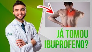 Em gel para dor da ibuprofeno alívio