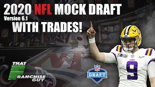 2020 NFL Mock Draft 6.1 | Predicting What WILL Happen (With Trades!)