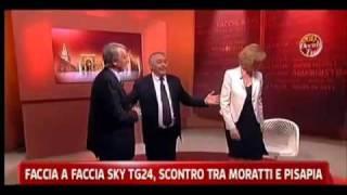 Il vile attacco della Moratti a Pisapia in diretta tv -- Ecco il video   Lettera Viola