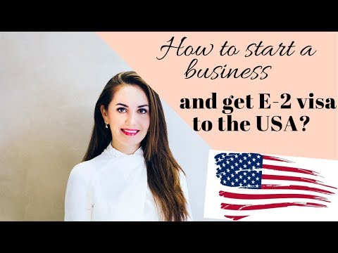 Start a business & get a work visa to USA✔️