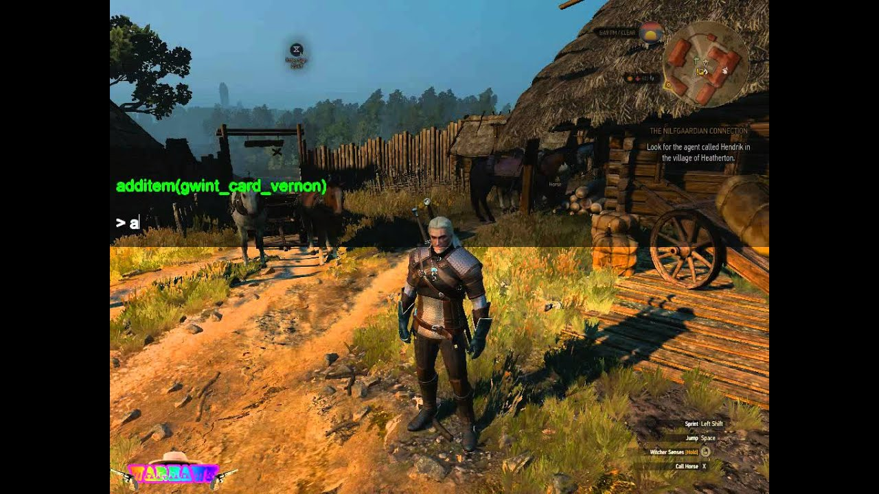 the witcher 3 wild hunt debug console mod youtube. Black Bedroom Furniture Sets. Home Design Ideas