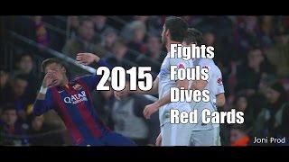 The dirty side of Real Madrid vs Barcelona vs Atletico Madrid | 2015 |