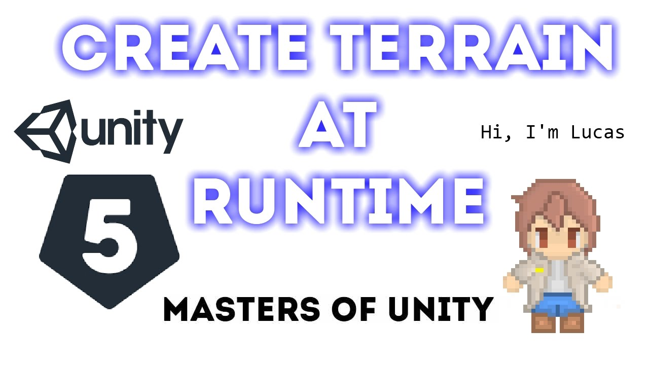 Unity 5 - Create Terrain From Texture (Works at Runtime too)