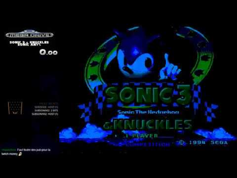 Sonic 3 & Knuckles - Speed run Any% with Sonic in 50m29s RTA-TB