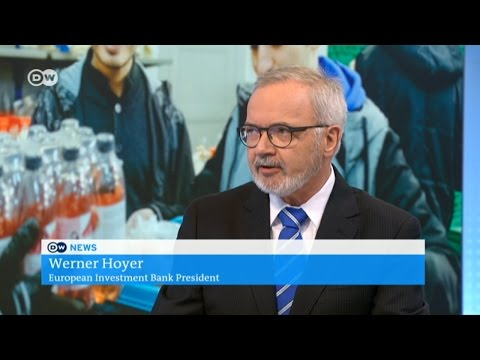 President Hoyer discusses EIB role in tackling refugee crisis (DW News interview)