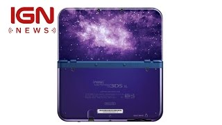 New Nintendo 3DS XL Coming to NA This Week - IGN News