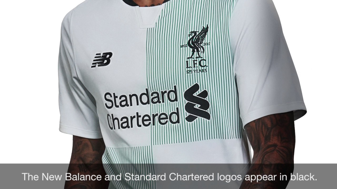 New Balance Liverpool FC 2017/2018 Away Jersey