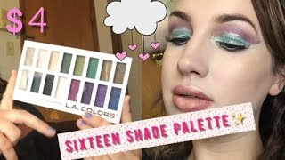 Slaying with $4 L.A. Colors Eye Shadow Palette