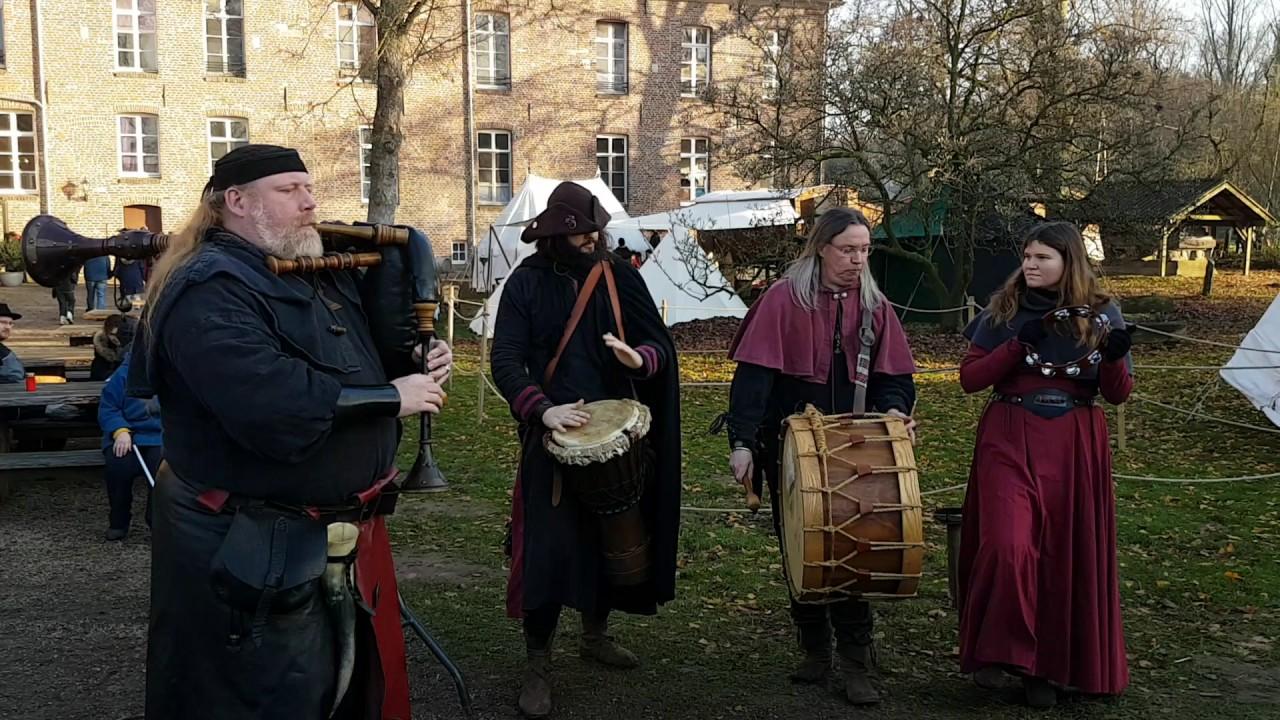 Spielleute Fafnir Am Weihnachtsmarkt Kloster Graefenthal Youtube