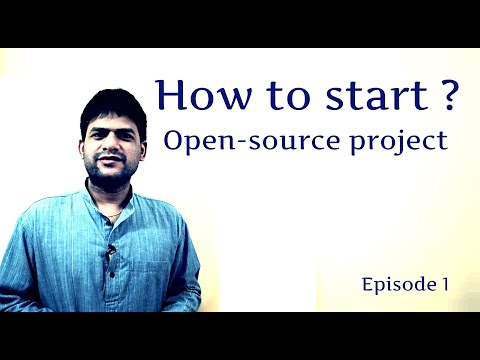 How to start Open-Source Project - Episode1
