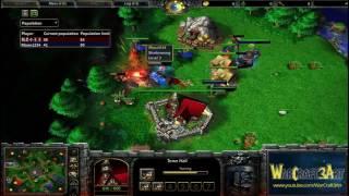Infi(HU) vs Moon(NE) - Game 1 - WarCraft 3 Frozen Throne - RN2889