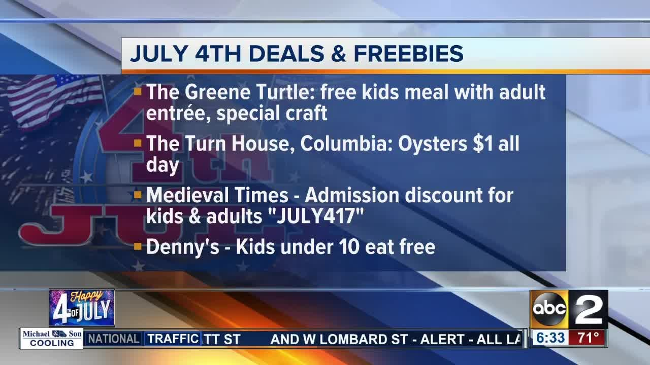 Enjoy these July 4th deals and freebies - YouTube 32b0ac902