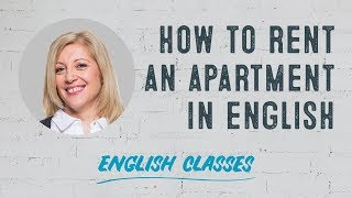 How to rent an apartment in English | ABA English