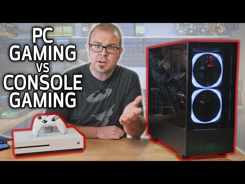 PC GAMING vs CONSOLE GAMING in 2019!