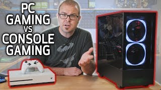 PC GAMING vs CONSOLE GAMING in 2019! Video