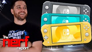 Let's Talk about the Nintendo Switch Lite - The Nerf Report Ep. 106