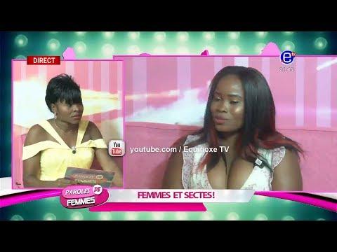 PAROLES DE FEMMES (FEMMES ET SECTES) DU MARDI 12 FÉVRIER 2019 EQUINOXE TV