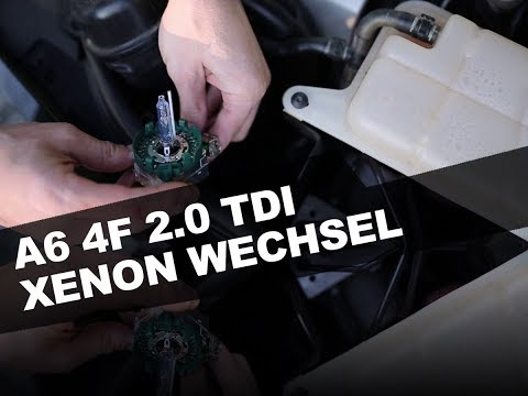 Audi A6 4F 2.0 TDI Xenon Brenner wechseln