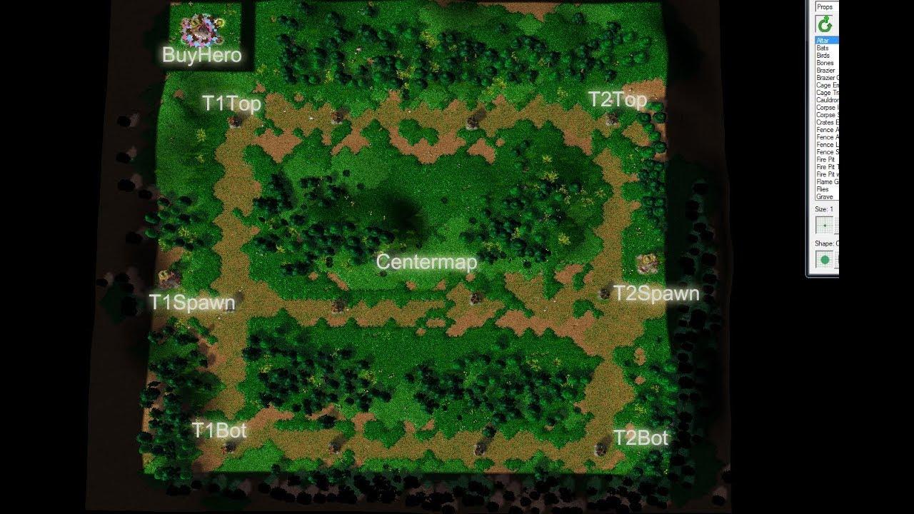 Warcraft D O N Custom Maps Tutorial Simple Ai For Moba Maps