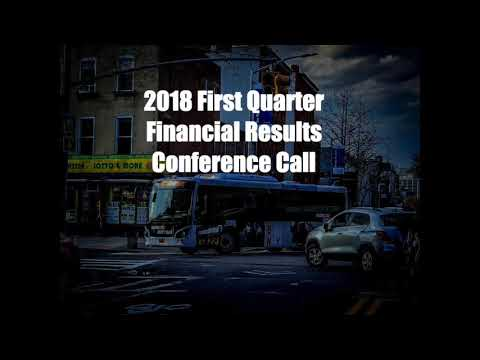 2018 Q1 Financial Results Conference Call