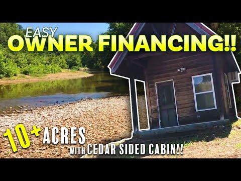 Cabin on the National Forest and North Fork River - InstantAcres.com