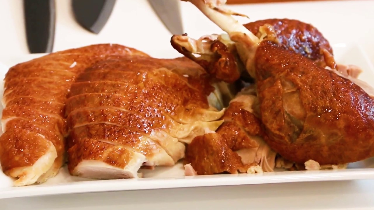 video on how to carve a turkey