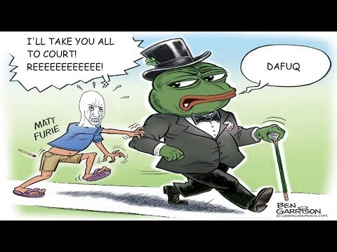 Matt Furie's Lawyers Send Cease and Desist Letters To Pepe Meme Producers