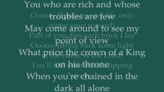 The Alan Parsons Project  -  Cask Of Amontillado  -  Lyrics