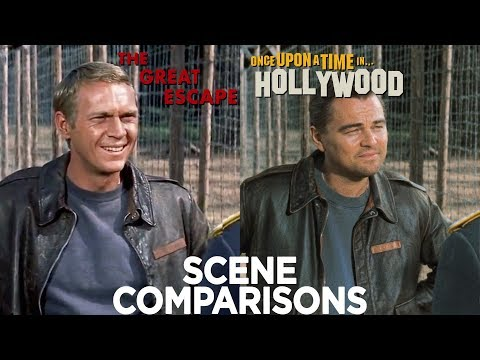 The Great Escape (1963) & Once Upon a Time... in Hollywood (2019) Side-by-Side Comparison