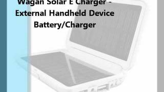 Wagan Solar E Charger - External Handheld Charger