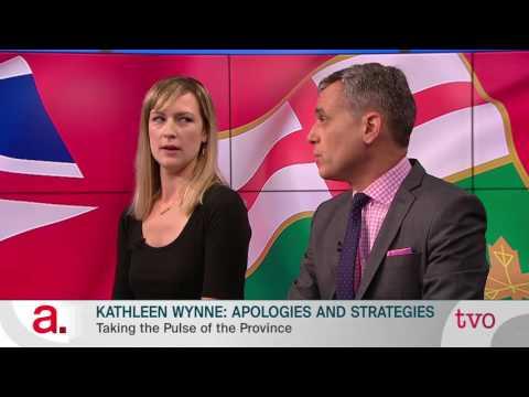 Kathleen Wynne: Apologies and Strategies