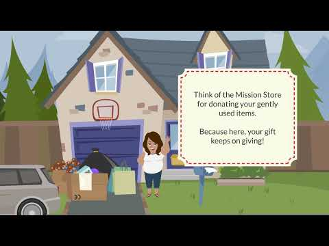 Donate To The Mission Store  - Where Your Gift Keeps On Giving