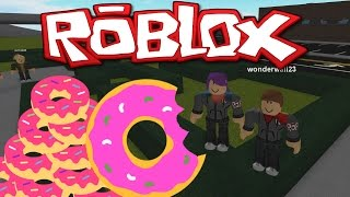 ROBLOX - RO-CITIZENS! -2- COPS & DONUTS!- GAMEPLAY