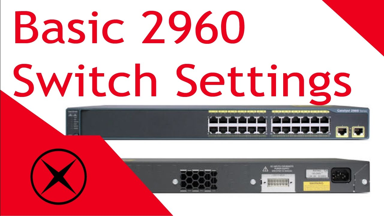 Setting Up Basic Cisco 2960 Switch Settings