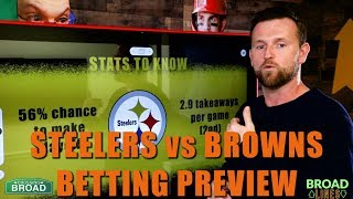 Steelers vs Browns Betting Prediction, Odds, and Picks for this Thursday Night Showdown