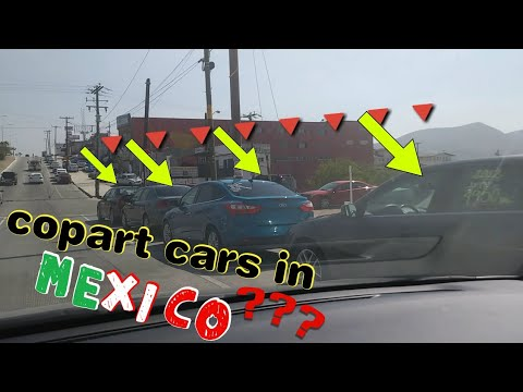 copart cars in mexico?? Taking a trip TIJUANA MEXICO resting from the copart BMW 750i