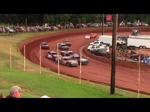 Winder Barrow Speedway Modified Street Feature Race 7/18/15