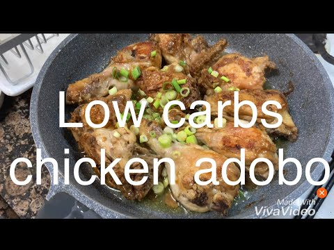 LOW CARB CHICKEN ADOBO | KETO PHILIPPINES WITH EASY RECIPES