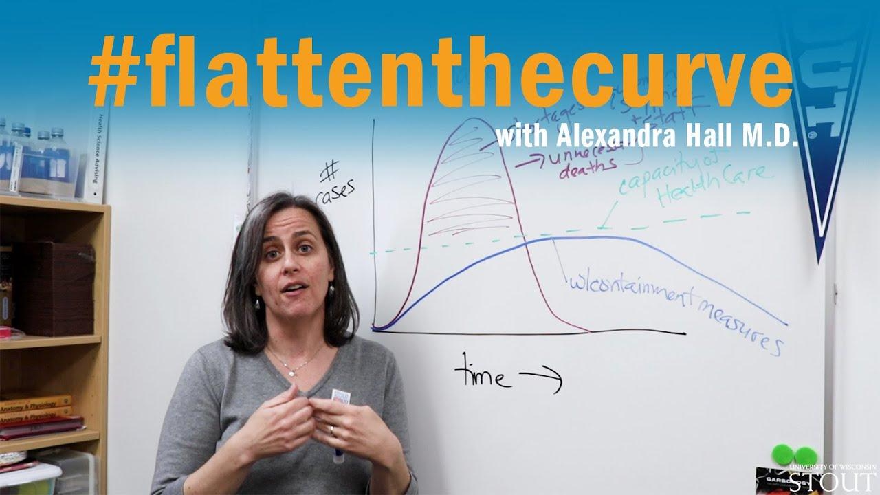 "Great Short video explaining the phrase ""flattening the curve"""
