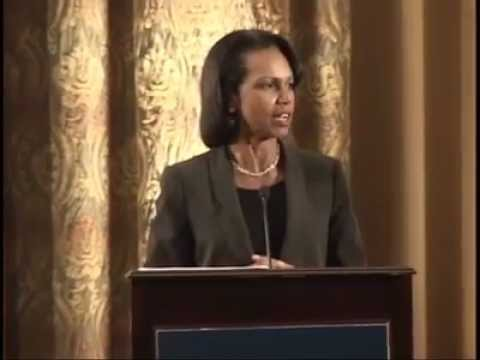 Condoleezza Rice on Opportunity, Freedom, Democracy, and Education