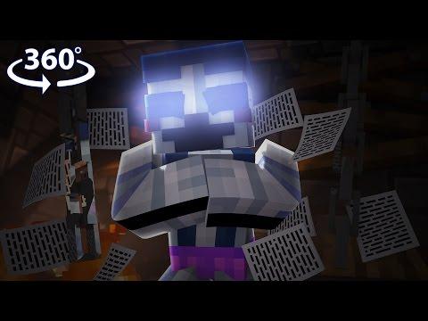 Five Nights At Freddy's - BALLORA VISION! - 360° Minecraft Video