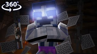 Five Nights At Freddy's - BALLORA VISION! - 360° Minecraft Video